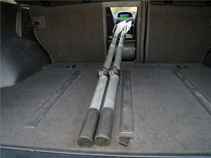 Renault Koleos 2014 багажное отделение