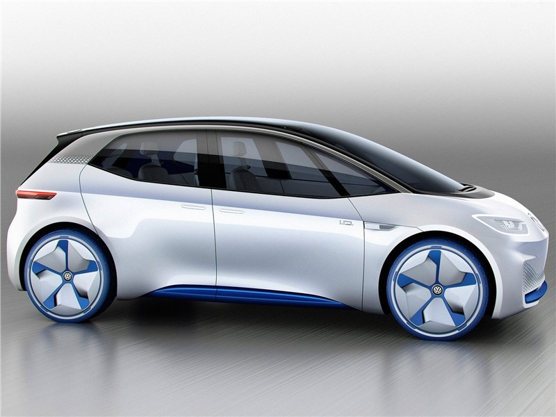 Volkswagen I.D. concept 2016 вид сбоку