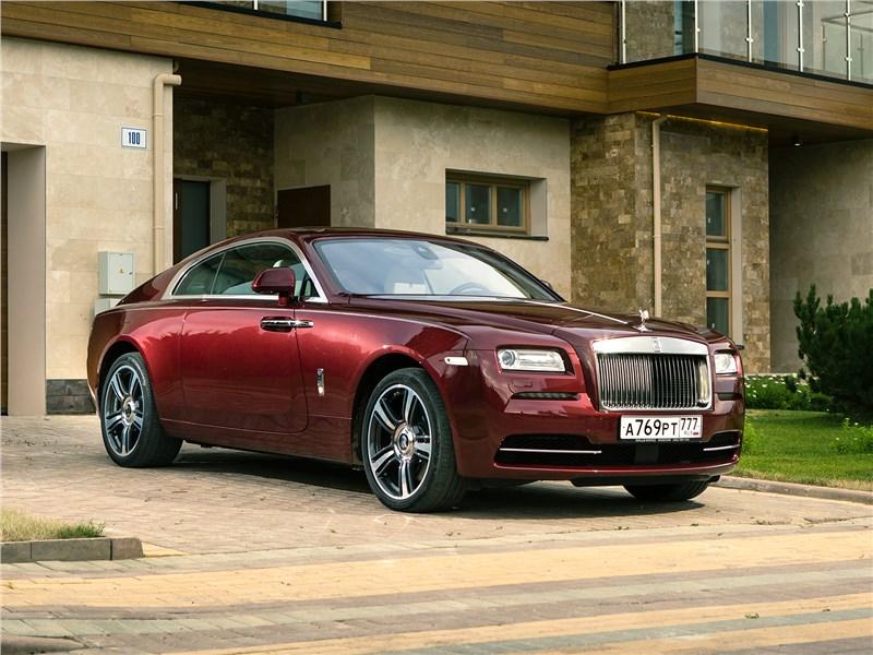 Rolls-Royce Wraith 2013 вид спереди