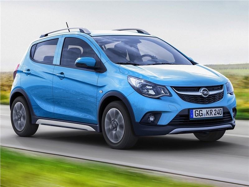 Opel Karl Rocks 2017 вид спереди
