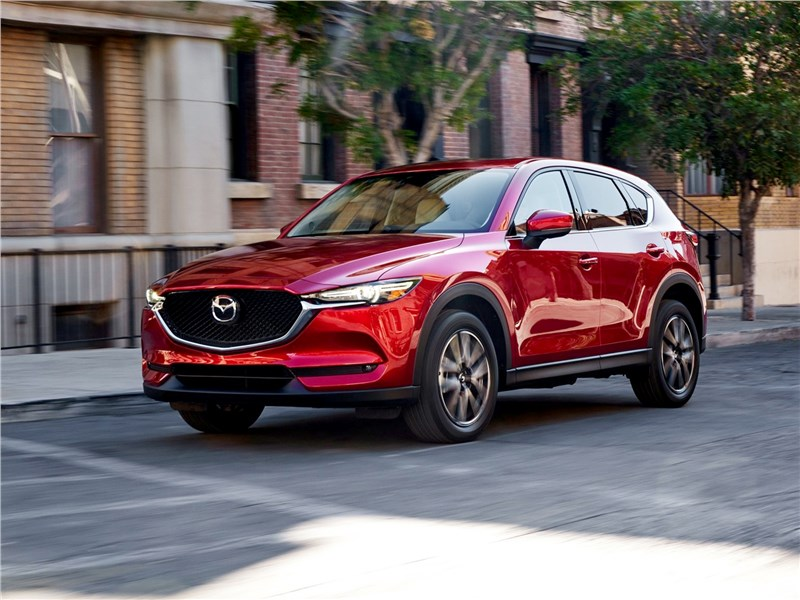 Mazda CX-5 2017 вид спереди сбоку