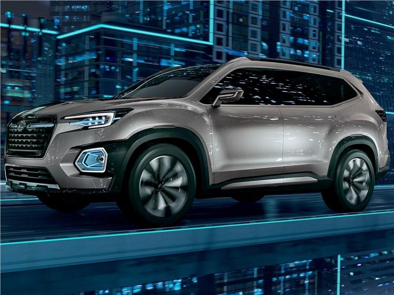Subaru VIZIV-7 SUV Concept 2016 вид спереди