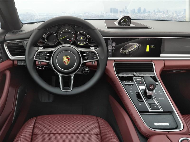 Porsche Panamera 2017 салон