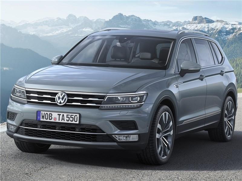 Volkswagen Tiguan Allspace 2018 вид спереди