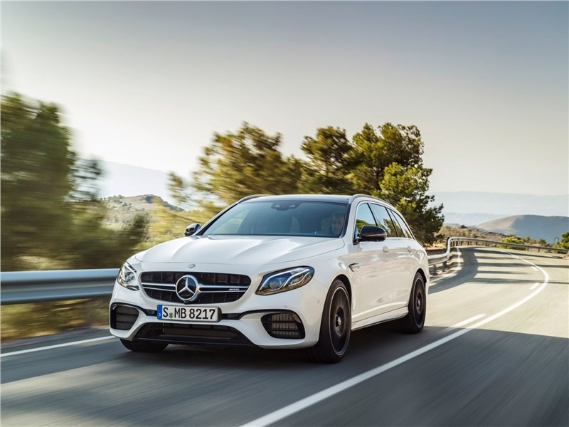 Mercedes-Benz E63 S AMG Estate 2018 вид спереди