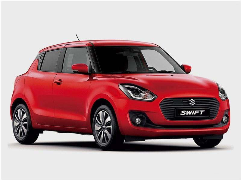 Suzuki Swift 2017 вид спереди