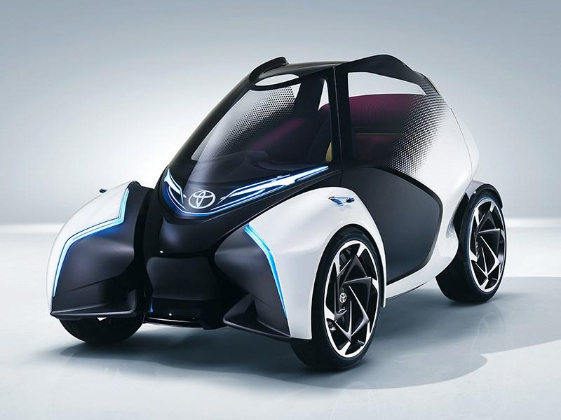 Автомобиль будущего от Toyota