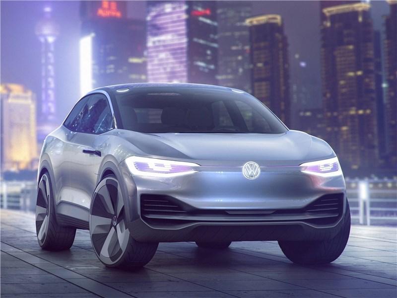 Volkswagen ID Crozz Concept 2017 вид спереди