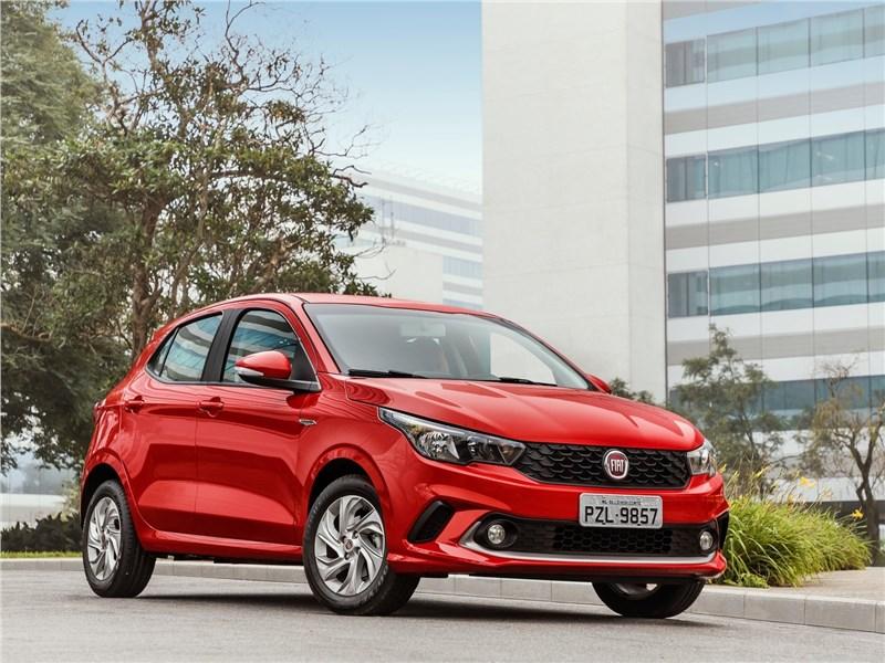 Fiat Argo 2018 вид спереди