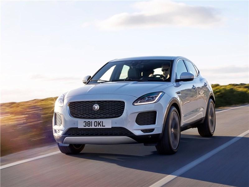 Jaguar E-Pace 2018 вид спереди