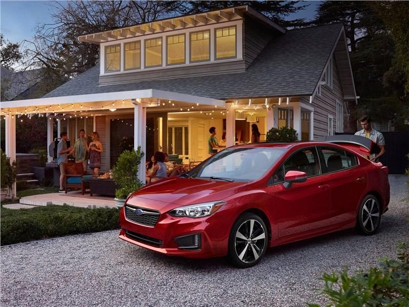 Subaru Impreza 2017 вид спереди