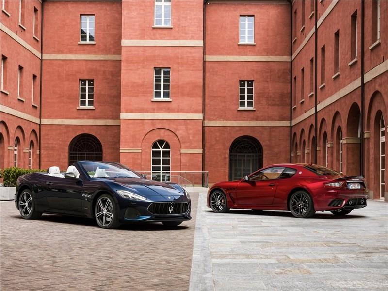 Maserati GranTurismo 2018 купе и кабриолет