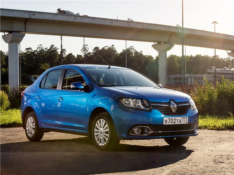 Renault Logan 2014 вид спереди