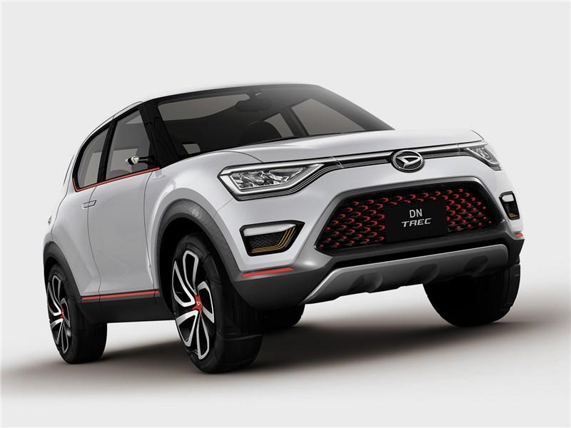 Daihatsu DN Trec Concept 2017 вид спереди
