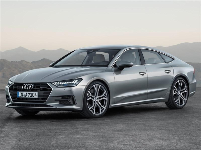 Audi A7 Sportback 2018 вид спереди