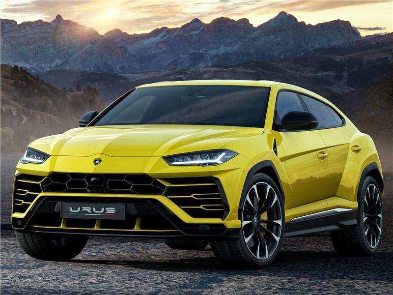 Lamborghini Urus 2019 вид спереди
