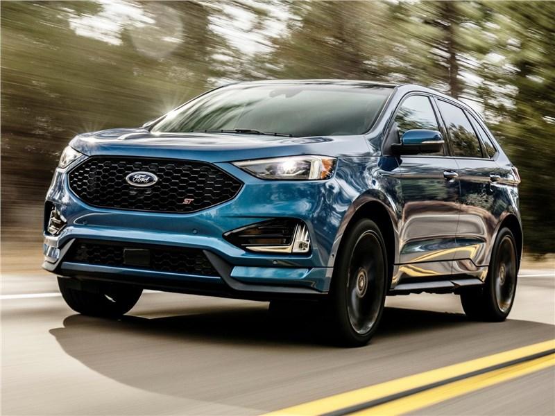 Новый Ford Edge - Ford Edge ST 2019 Еще горячее
