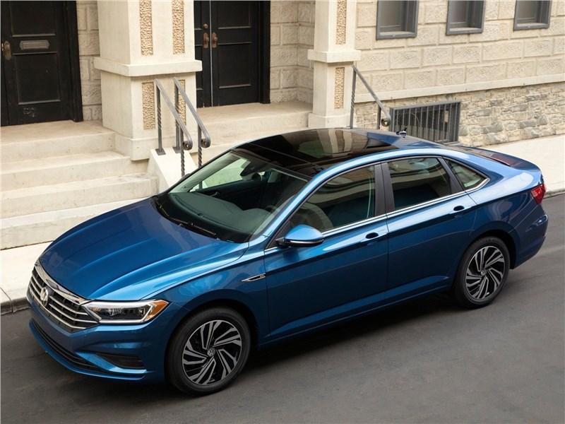 Volkswagen Jetta 2019 вид сверху