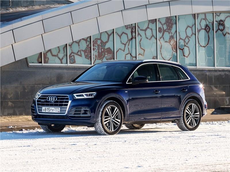 Audi Q5 2017 вид спереди