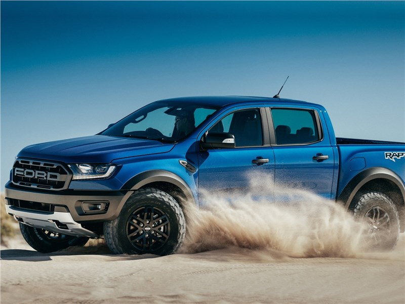 Ford Ranger Raptor 2019 вид сбоку