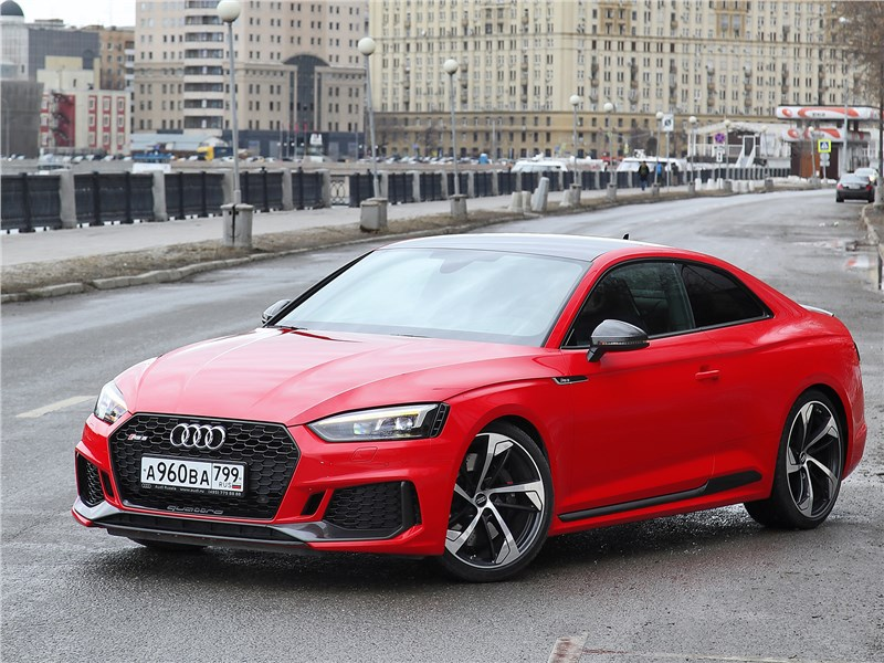 Audi RS5 2018 вид спереди