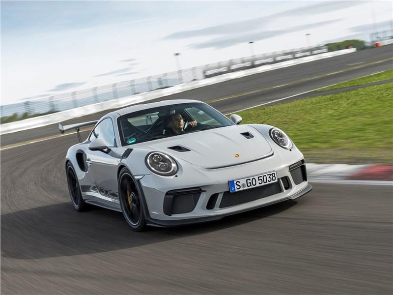 Новый Porsche 911 GT3 RS - Porsche 911 GT3 RS 2019 Слагаемые рекорда