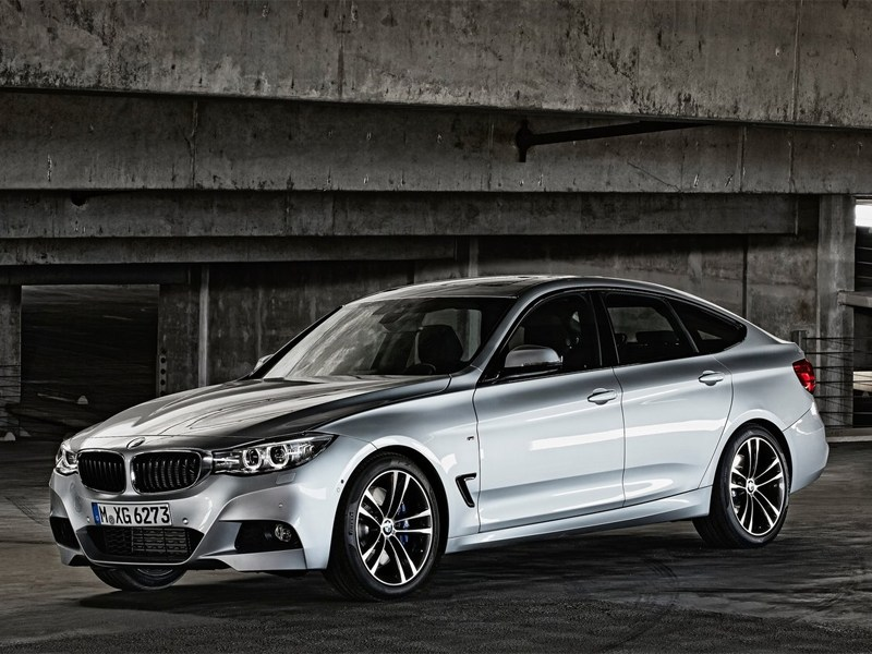 BMW рассекретил 3-Series Gran Turismo