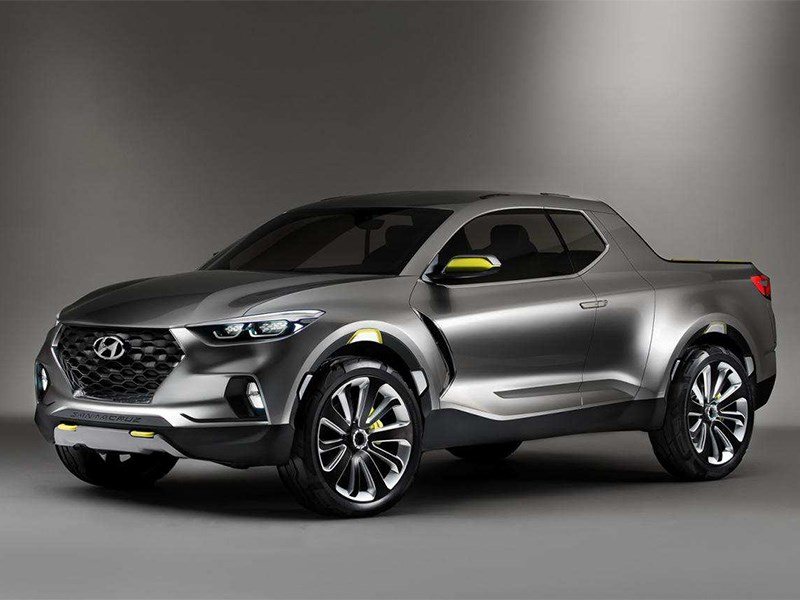 Компания Hyundai анонсировала выход пикапа