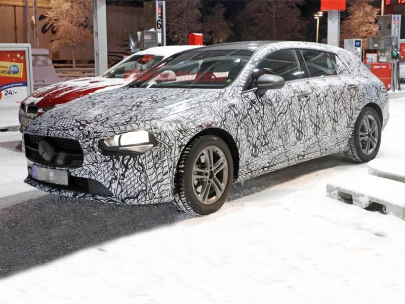Mercedes CLA Shooting Brake готовится к производству Фото Авто Коломна