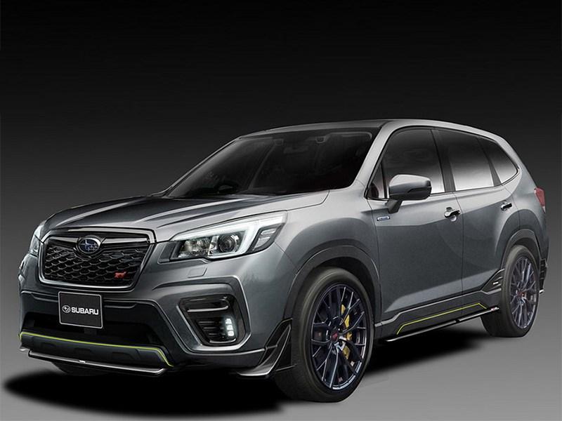 Subaru готовит Forester STI