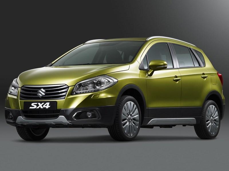 Suzuki представила новый кроссовер Suzuki SX4