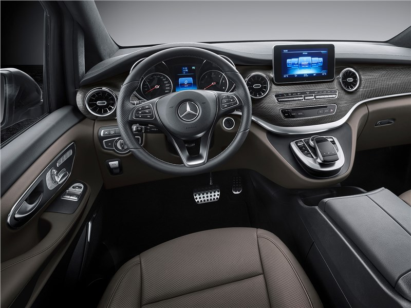 Mercedes-Benz V-Klasse 2020 водительское место