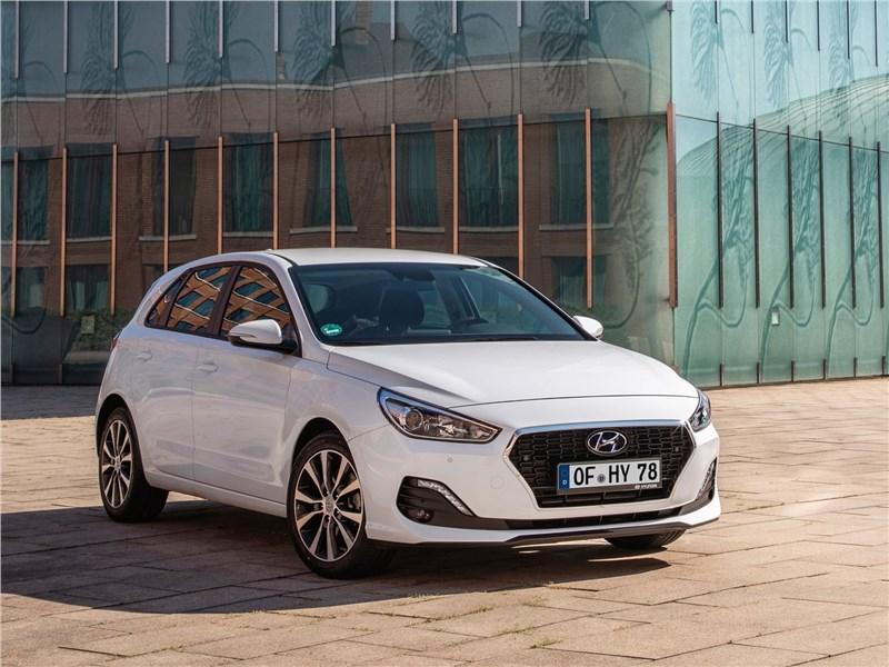 Hyundai i30 2019 вид спереди