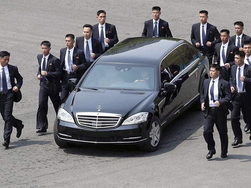 В Mercedes удивились, что Ким Чен Ын ездит на их автомобилях Фото Авто Коломна