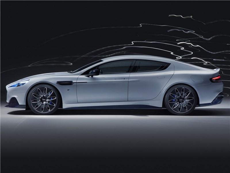 Aston Martin Rapide E 2020 вид сбоку