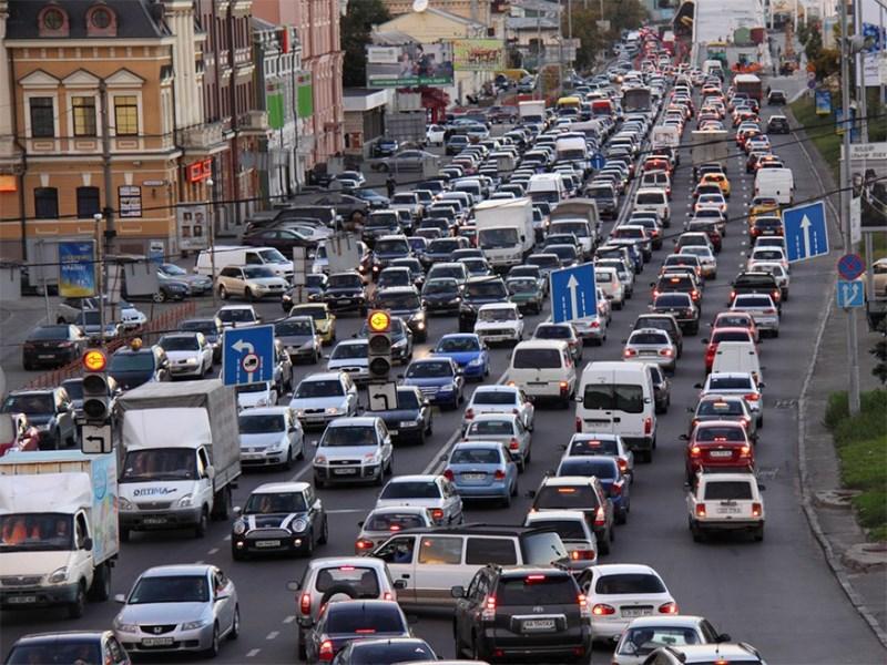В Москве на три месяца ограничат движение по ТТК Фото Авто Коломна