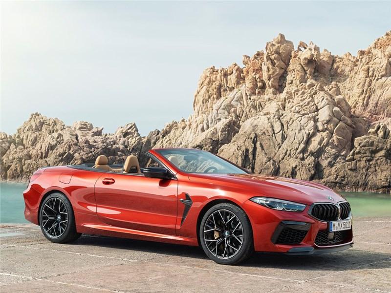 Объявлены цены на BMW M8