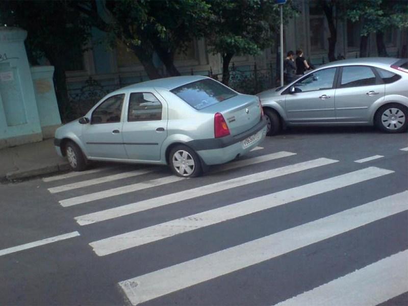 У ГИБДД отняли право штрафовать за неправильную парковку