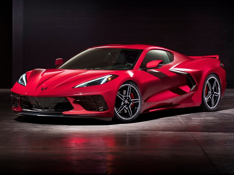 У Chevrolet Corvette не будет хромированных колёс Фото Авто Коломна