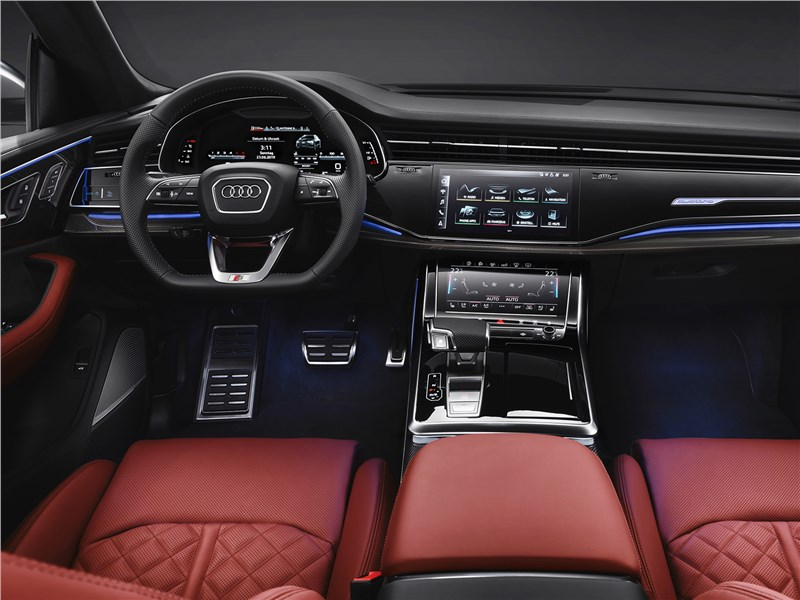 Audi SQ8 TDI 2020 салон