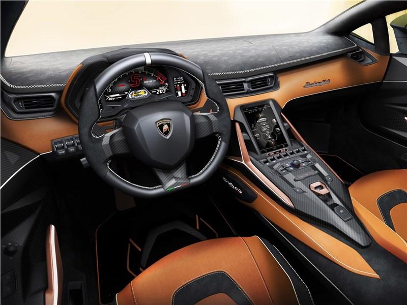 Lamborghini Sian 2020 салон