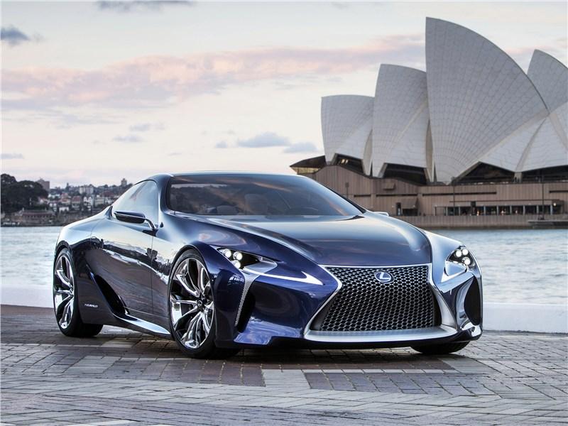 Lexus LF-LC Concept 2012