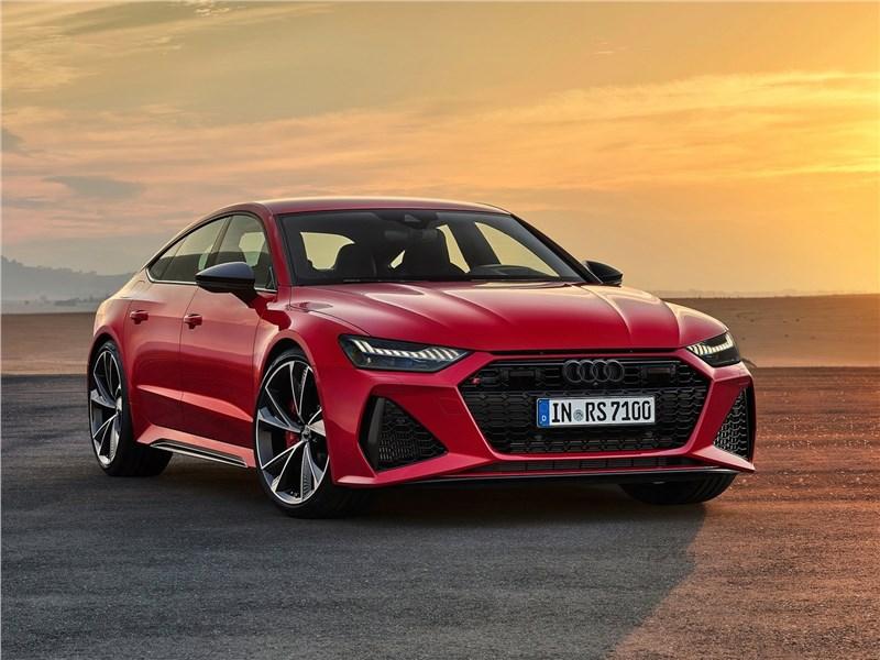 Audi RS7 Sportback 2020 вид спереди