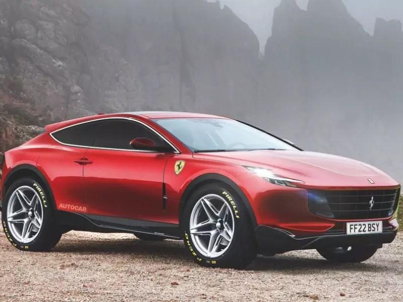 Кроссовер Ferrari: подробности Фото Авто Коломна