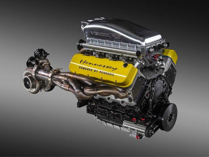Гиперкару Hennessey добавят мощности Фото Авто Коломна