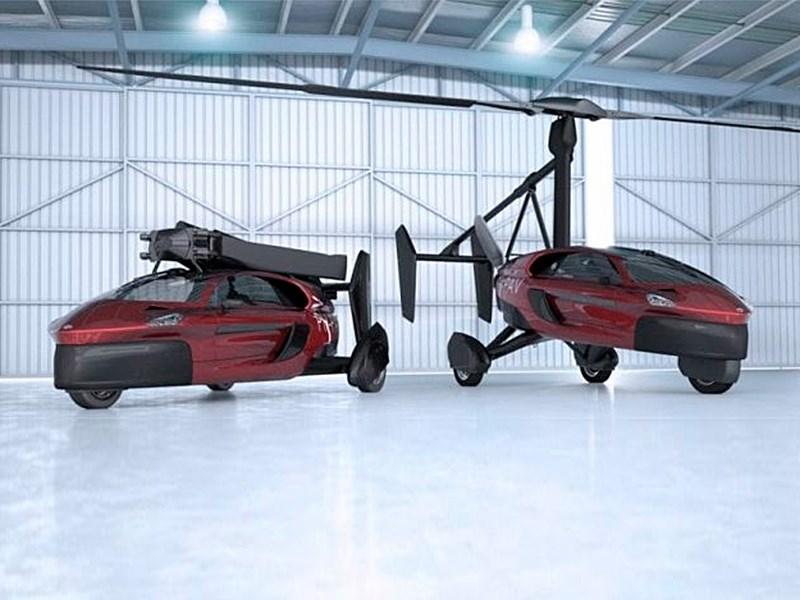В России начнут создавать летающие автомобили Фото Авто Коломна
