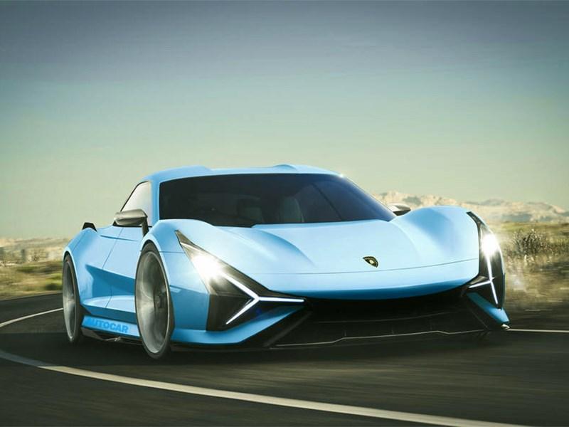 Lamborghini готовит электрокар Фото Авто Коломна