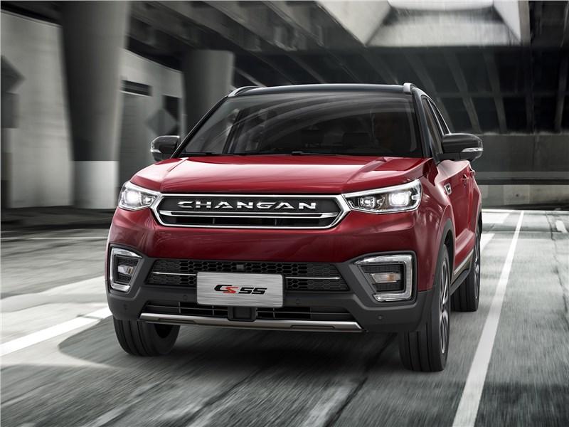 Changan CS55 2018 вид спереди