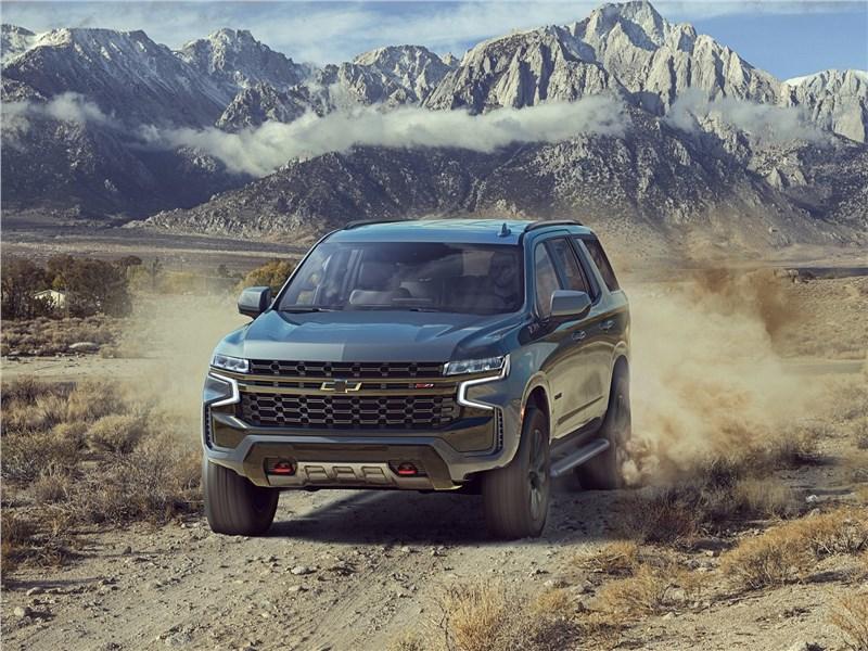 Chevrolet Tahoe 2021 вид спереди