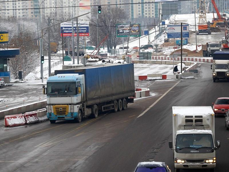 Водителям грузовиков увеличили штрафы